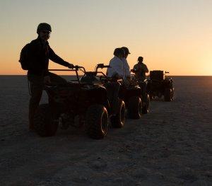ATV sunset